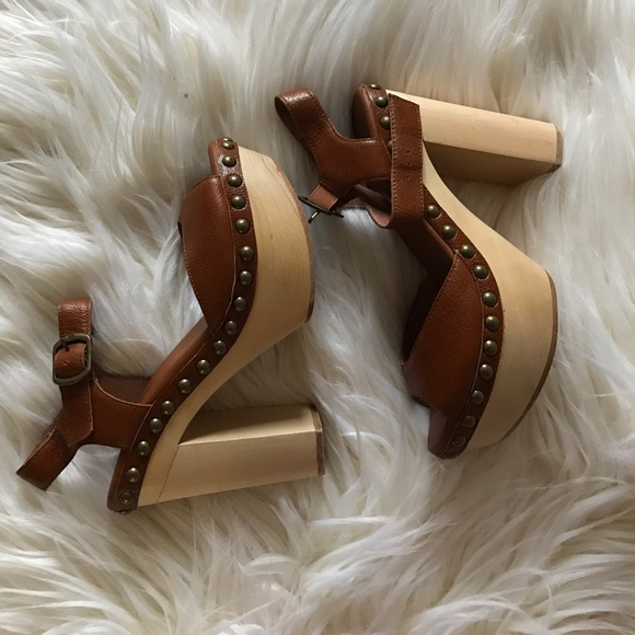 Jeffrey Campbell Shoes - Jeffrey Campbell wooden heels (like new)
