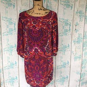 Trina Turk silk dress size 10