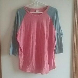 LuLaRoe Randy shirt 2XL