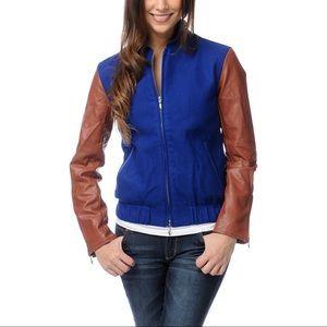 Wesc Jackets & Blazers - Cute WeSC varsity fleece  jacket
