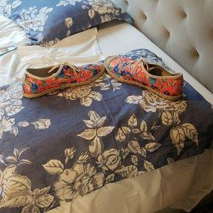 Shoes - Summer espadrille shoes
