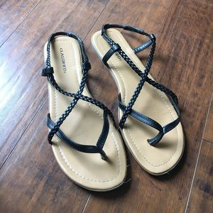 Classified Shoes - Classified Black Sandals