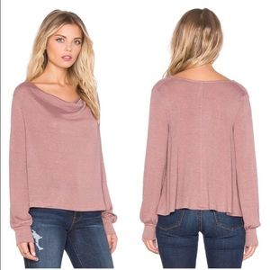 ⚡️FLASH SALE⚡️FREE PEOPLE Palmer Cowl Neck Blouse