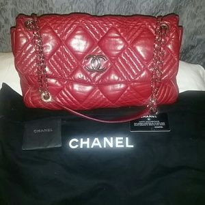 CHANEL Handbags - CHANEL IN AND OUT MAXI FLAP Bag price is firm