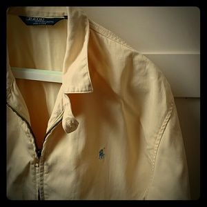 Polo By Ralph Lauren Other - Light yellow vintage jacket by Polo by Ralph Laure