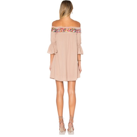 Vava by Joy Han Dresses - NWT VaVa by Joy Han embroidered off shoulder dress