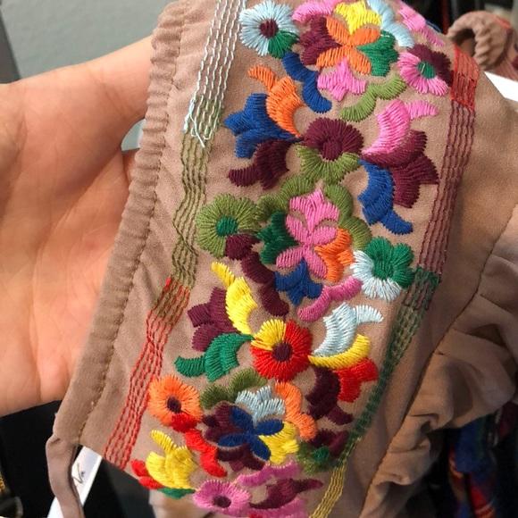Vava by Joy Han Dresses - NWT VaVa by Joy Han embroidered off shoulder dress