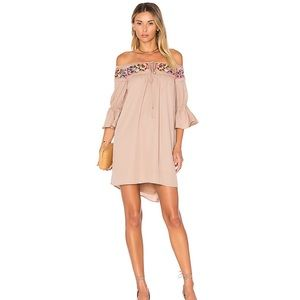 NWT VaVa by Joy Han embroidered off shoulder dress