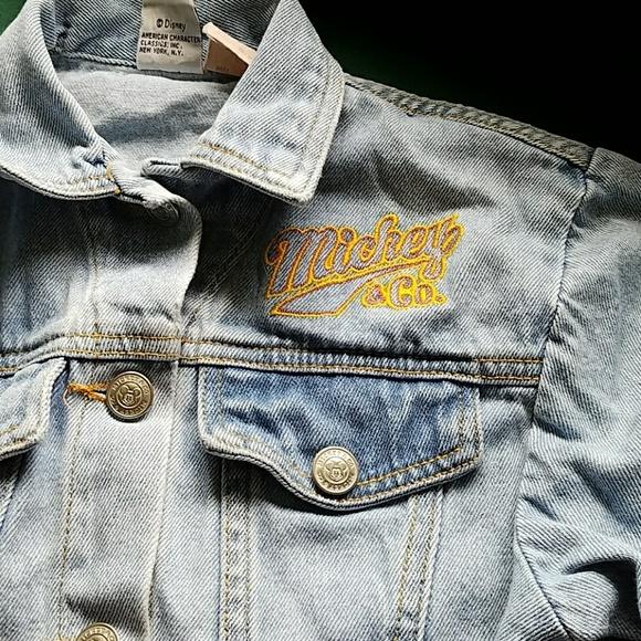 80 off disney other disney mickey co jean jacket for Gap 75014