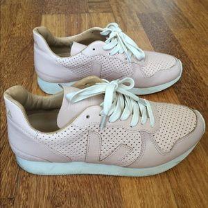 Veja Shoes - Veja Bastille Sneaker in Nude - Size EU 39 / US 8