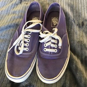 Vans Shoes - PURPLE LACE UP VANS