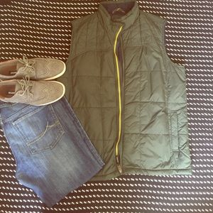 Ascend Other - Army Green Ascend Puffer Vest