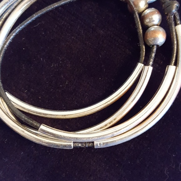 75 off lizzy james jewelry lizzy james silver leather for Who sells lizzy james jewelry