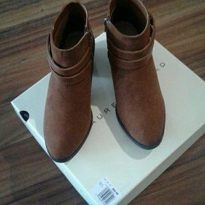 Lauren Conrad Shoes - Low heel ankle boot