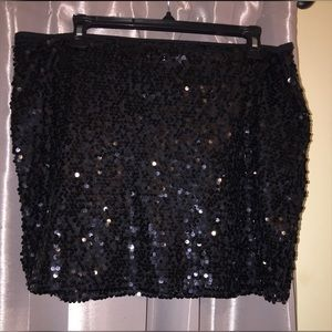 Poof Couture Dresses & Skirts - Sequined Skirt