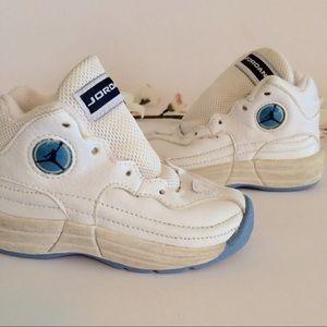 Air Jordan Other - North Carolina baby blue vintage 90s child Jordans