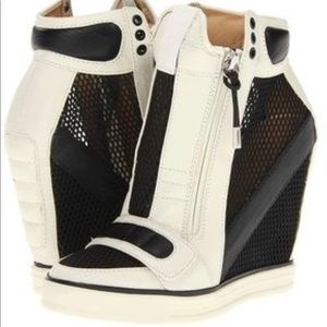 L.A.M.B. Shoes - L.A.M.B Renvy Wedge Sneakers