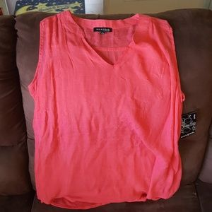 Ava & Grace Tops - Nwt pink sleeveless top