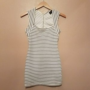 AKIRA Dresses & Skirts - Akira Black Label Striped Dress