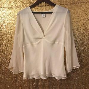 Allison Taylor Tops - 100% Silk Shirt