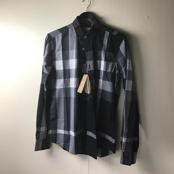 6d780323 Burberry Shirts | London England Mens Long Sleeve Shirt | Poshmark