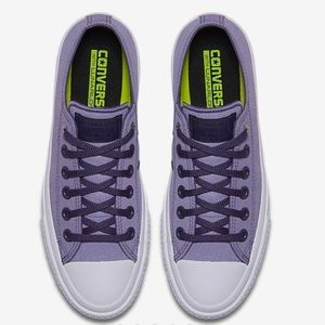 💜Only💜Brand new lilac Converse Chuck Taylor