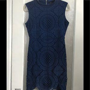 NWOT Blue Lace Dress