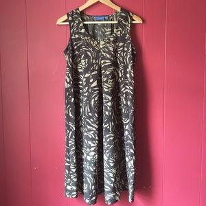 Vera Wang Jewel Embellished Dress