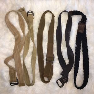 Other - Abercrombie & Fitch Belt Assortment