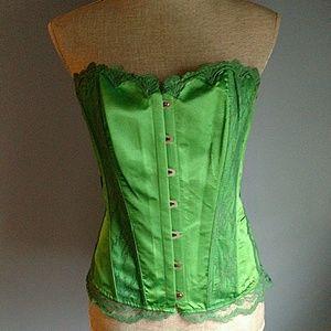 DC Other - DC Comics Green Corset Size L/XL Costum