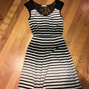Soprano Dresses & Skirts - Black and White striped sundress
