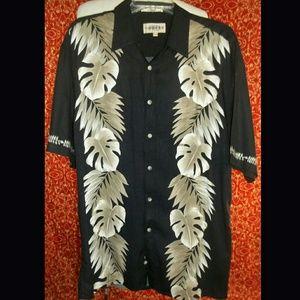campia moda Other - CAMPIA MODA Hawaiian rayon button front shirt L