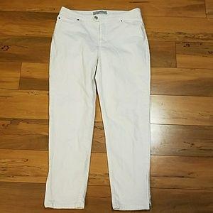 Chico's Denim - White Chico's Jeans Size 1 (8 Medium)