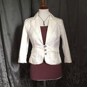 Jackets & Blazers - 💥3/4 sleeve blazer, jacket, white