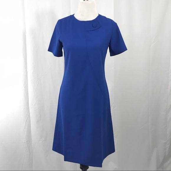 3e123fc0b10 Dresses   Skirts - Vintage Mod 1960s Electric Blue Scooter Dress L