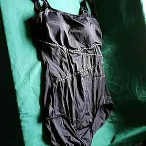 Maxine of Hollywood Other - Maxine Black One piece swimsuit tummy panel 14W