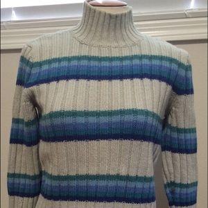 J Crew Striped Sweater