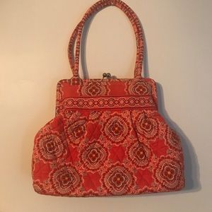 Vera Bradley Handbags - Vera Bradley Alice Shoulder Bag in Orange Paprika