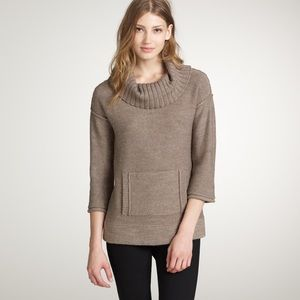 J Crew Amade Medium Brown Wool/Mohair Sweater