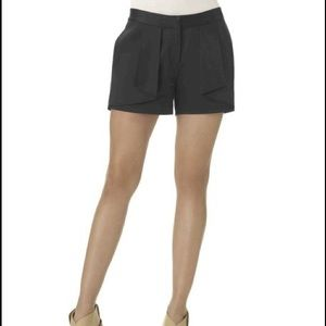 Silky Black Shorts