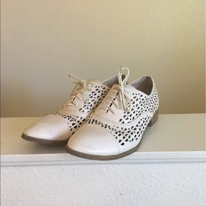 Sam & Libby Shoes - Sam & Libby Perforated Oxfords
