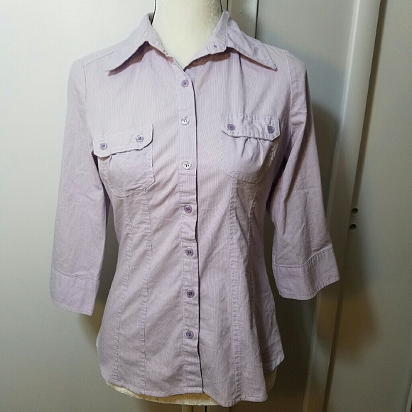 50 off apt 9 tops apt 9 rolled cuff fitted pinstriped for Apartment 9 dress shirts