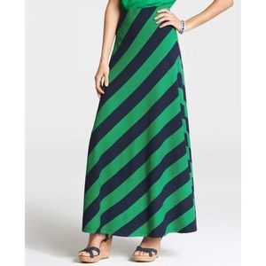 Ann Taylor Factory Dresses & Skirts - Ann Taylor Bias Stripe Maxi Skirt