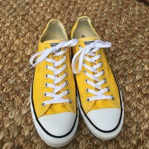 07af7a048871 Converse Shoes | Yellow Original Chuck Taylor Low Rise | Poshmark
