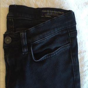 All Saints Black Skinny Jeans
