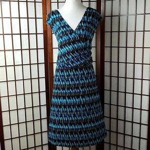 AGB Dresses & Skirts - Woman AGB Sleeveless Multi-color Casual Dress