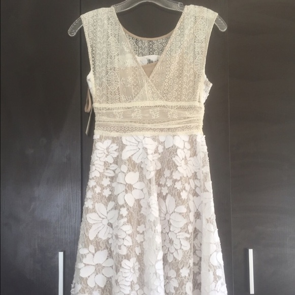 47 off anthropologie dresses amp skirts white lace