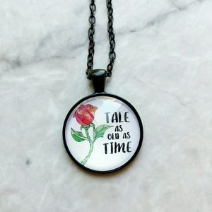 Jewelry - Tale As Old As Time Beauty & The Beast Necklace