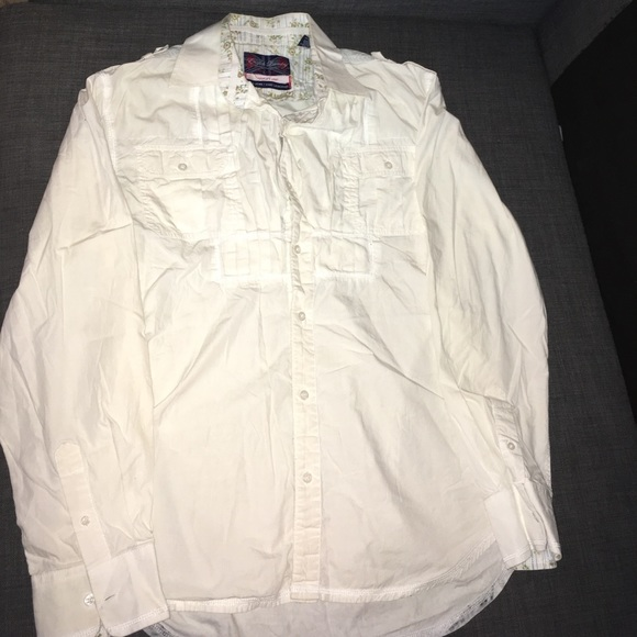 English Laundry Shirts Peoples Army Button Up Shirt