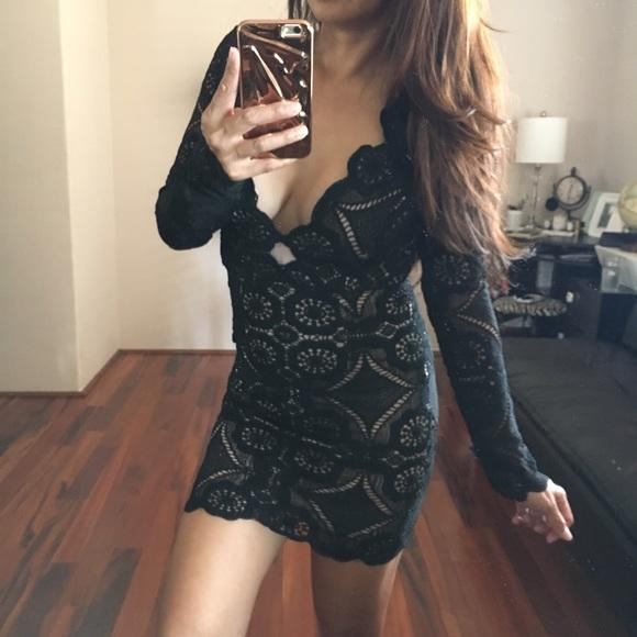 Asos Love Triangle Dresses Nwot Vneck Mini Dress Poshmark